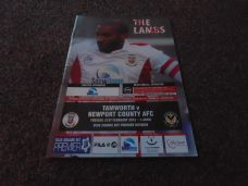 Tamworth v Newport County, 2011/12